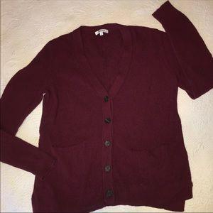Madewell V neck button up sweater Cardigan medium